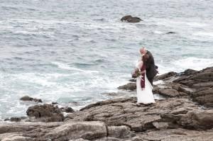 Hochzeitsfotografie am Meer