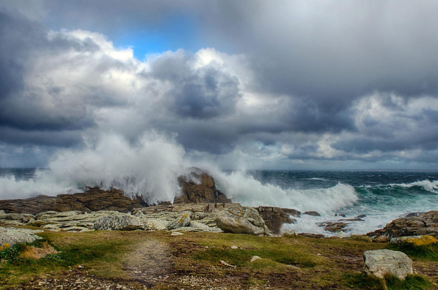 Bretagne Sturm I Fotografie: Gudrun Itt