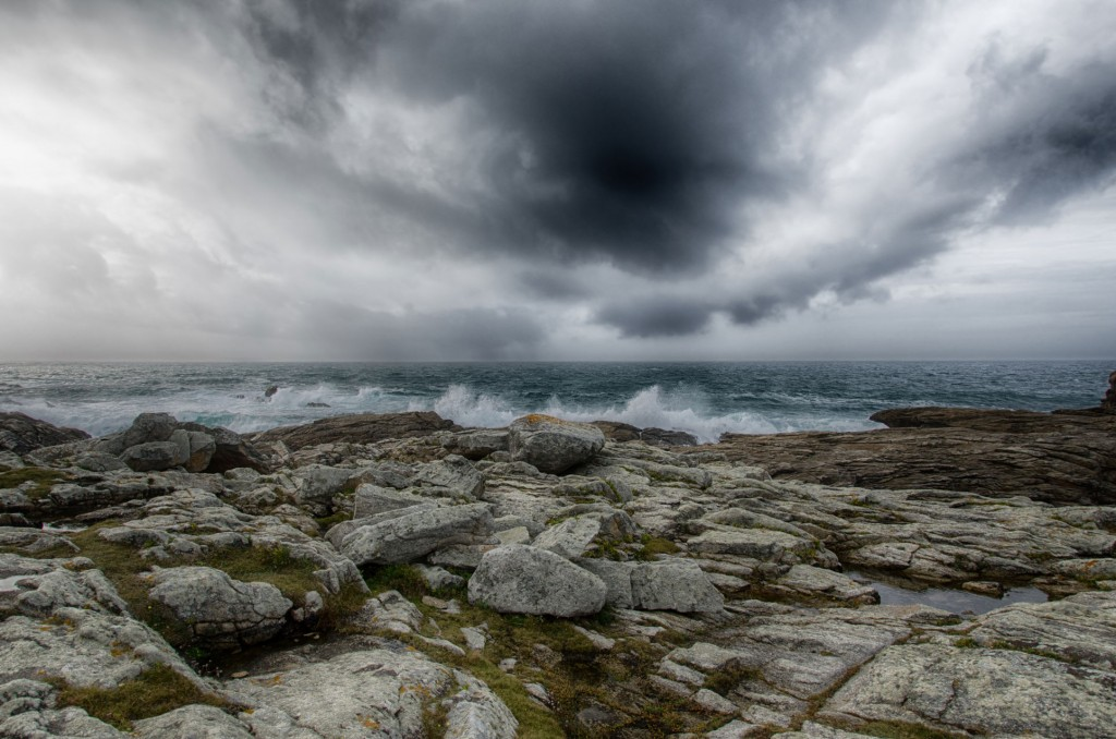 Rochers de Saint Guénolé - Sturm Bretagne I Fotografie: Gudrun Itt
