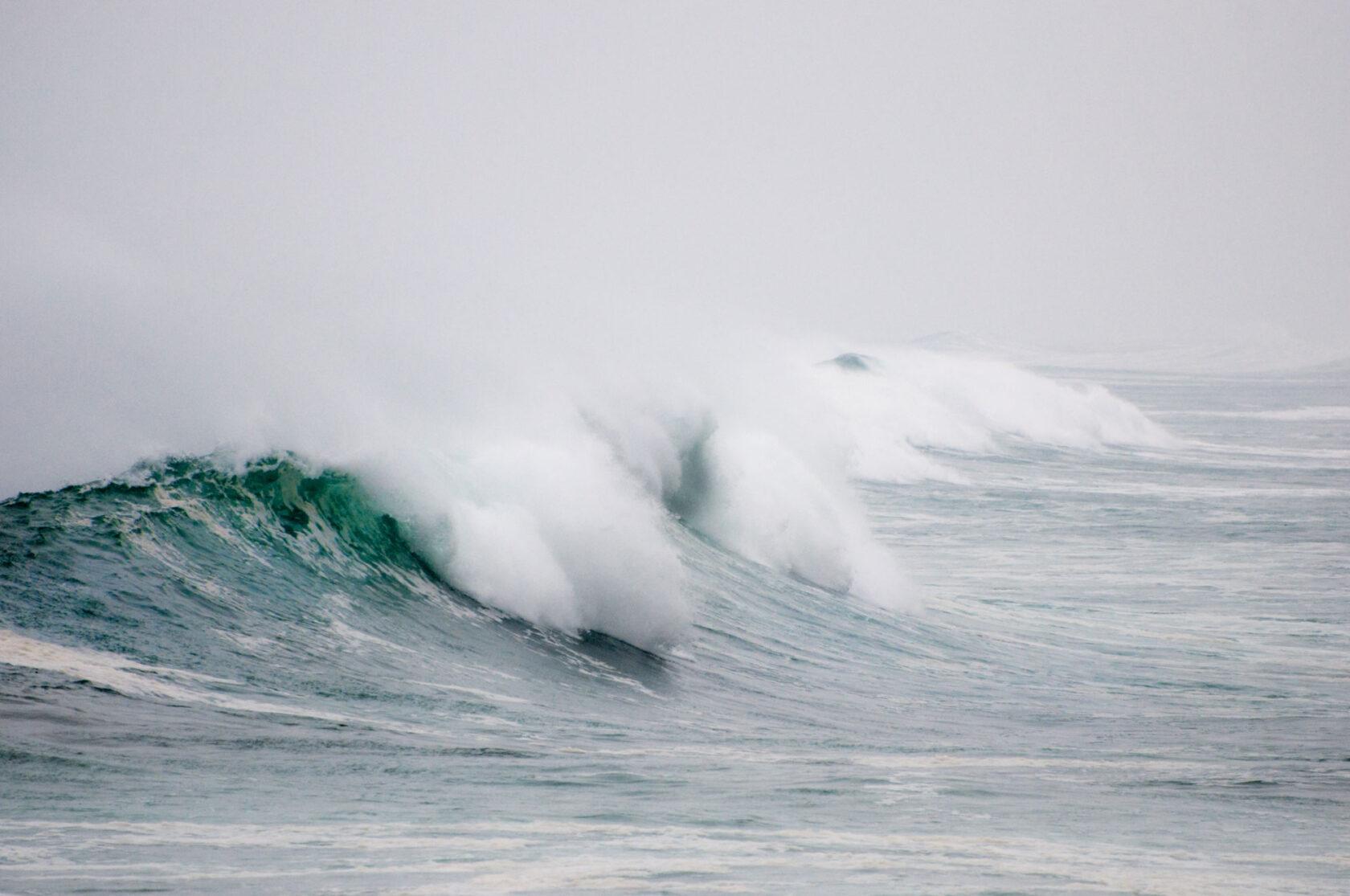 Bretagne Sturm - Finistere Sturm I Fotografie: Gudrun Itt