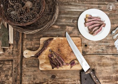 Rindfleisch-Foodfotografie